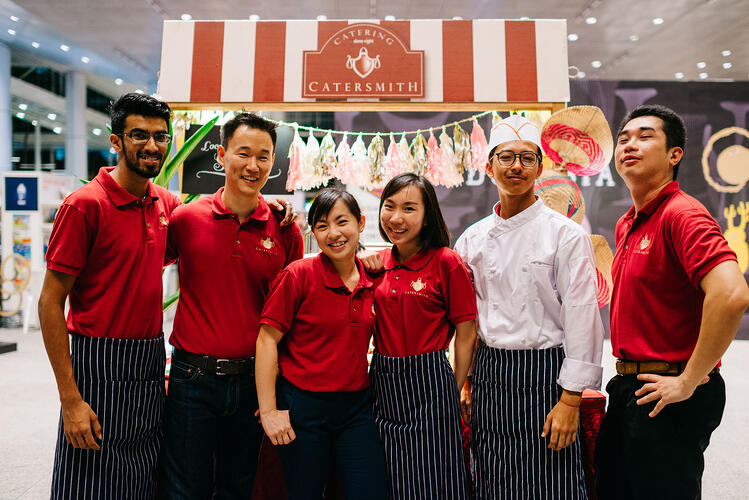 Buffet Catering Singapore Catersmith Team