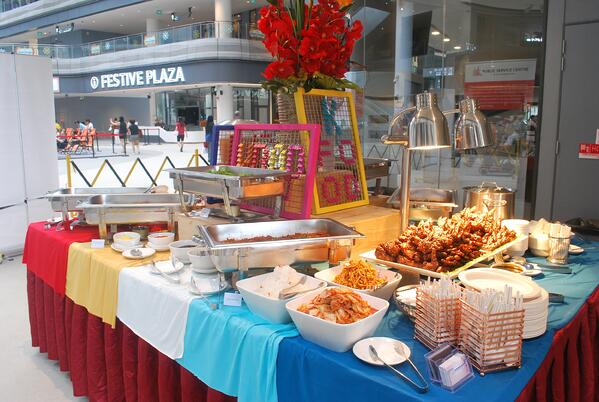 korean buffet catering singapore