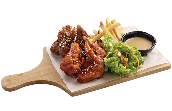 Korean catering singapore fried chicken and beer
