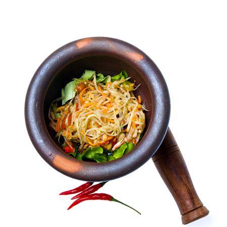 buffet catering singapore thai food papaya salad