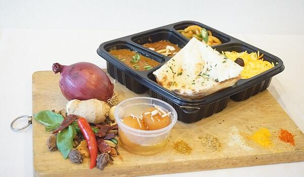 Curry and Tandoor Bento Delivery Singapore