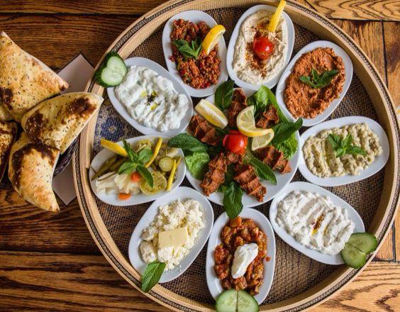 Middle Eastern Catering Mezze Platter Singapore