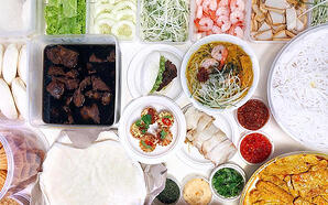 Fortune food Chinese New Year Mini Buffet Catering Singapore