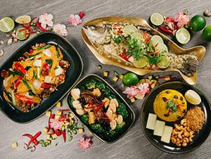 Nara Thai Chinese New Year Mini Buffet Catering Singapore