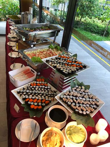 Japanese Catering Singapore Kuishin Bo Catering