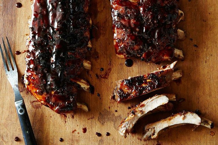 buffet catering singapore sticky ribs