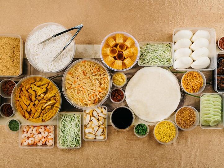 Popiah & Local Food Mini Party Set Singapore